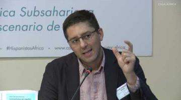 I Encuentro de Hispanistas África – España. La enseñanza de español. Javier Serrano