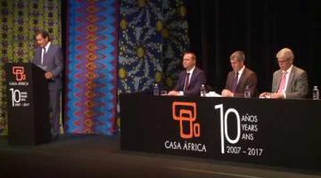 Acto 10º Aniversario de Casa África