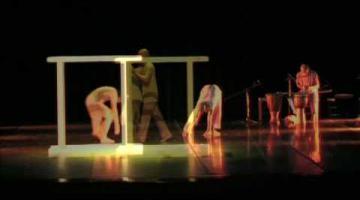 Espectáculo de danza contemporánea africana de la Compañía Rary