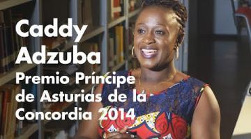 Entrevista a Caddy Adzuba (resumen) / Interview avec Caddy Adzuba (résumé)