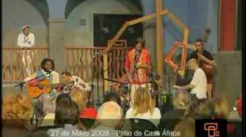 Casa África, con la música africana