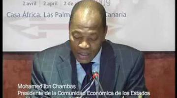 Seminario de Fortalecimiento Institucional y Reunión de Alto Nivel CEDEAO-España