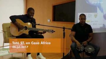 Totó ST, en Casa África