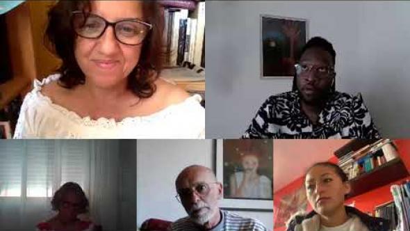 El Club de Lectura Antonio Lozano de Casa África se encuentra con Moha Gerehou