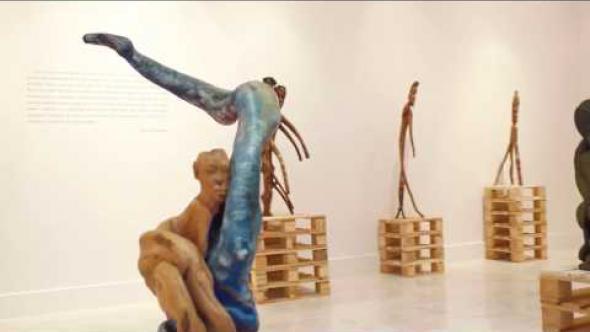 Exposición «Fernando Nguema. Obras incompletas 1992-2008»