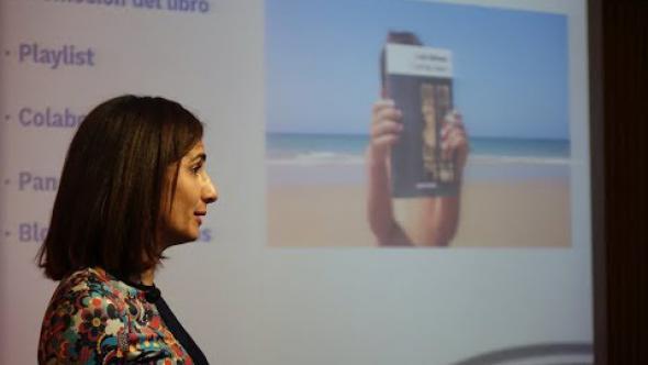 Olga Cuadrado / Crear redes con iniciativas literarias desde las bibliotecas