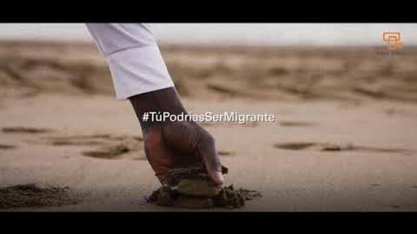 Campaña #TúPodríasSerMigrante