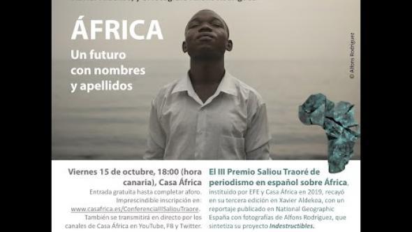 Conferencia «África. Un futuro con nombres y apellidos»
