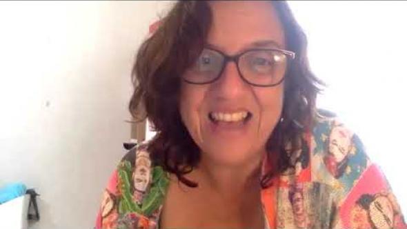 Encuentro con la la escritora botsuanesa Wame Molefhe [con interpretación al español]