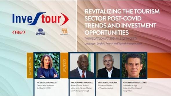 Investour 2021: Ceremonia de apertura y mesa redonda