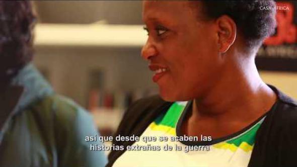 Véro Tshanda, protagonista de «Felicité»