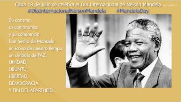 Celebramos el Día Internacional de Nelson Mandela