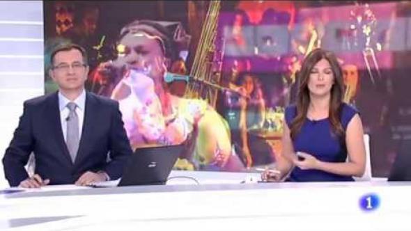 Dakar Vis a Vis 2015, en el Telediario (TVE, 15 marzo de 2015)