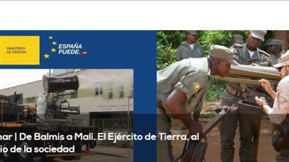 Webinar | De Balmis a Mali. El Ejército de Tierra, al servicio de la sociedad